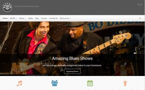 NCFBS member bands and performers can add their events to ncfblues.org