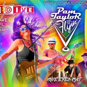 Pam Taylor and the Flyin' Vs/Midnight Blue Band/One Eyed Cat